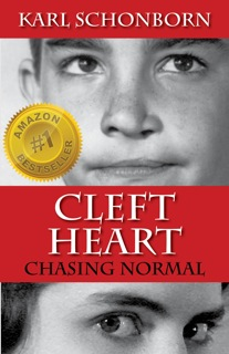 Cover image for Cleft Heart, Amazon bestseller.
