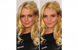 Shocking before/after celeb photos. Lookism or what?