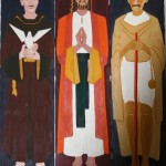 Heroes' triptych